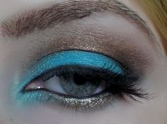 Blue and Bronze