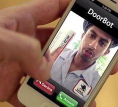 DoorBot WiFi Doorbell Camera