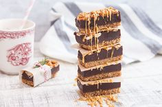 Fudge Crumb Bars - Little Northern Bakehouse