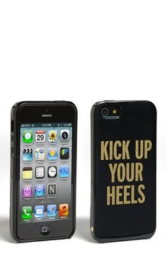 kate spade new york 'kick up your heels' iPhone 5 & 5S case available at #Nordstrom