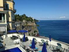 Sorrento. I would absolutely love to stay a night here.  Gorgeous!