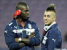 Stefan El Shaarawy & Mario Balotelli