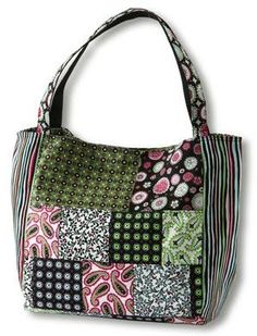 Free Printable Purse Patterns | new spring bag? Make your own! You'll love these free bag patterns ...
