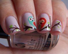 Owl Nails!!