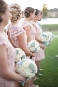 Read More: http://www.stylemepretty.com/2014/07/25/sophisticated-wedding-at-mccormick-ranch-golf-club/