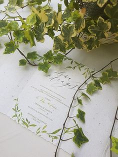 Magie cu ZÂNA BOEMĂ Wedding Stationery, Wedding Invitations, Modern Calligraphy, Service Design, Bespoke, Hand Lettering, Artsy, Herbs, Taylormade