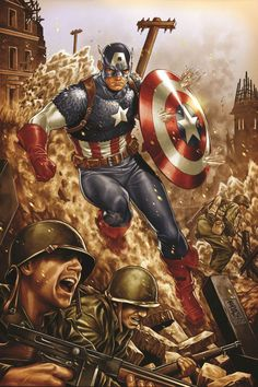 Comics Relief: Marvel Gets Ready to Celebrate CAPTAIN AMERICA's 75th Anniversary…