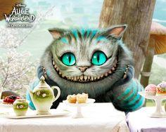 le chat, alice au pays des merveilles, film