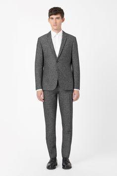 COS | Salt-and-pepper blazer