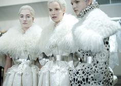 ALEXANDER MCQUEEN A/W12 BACKSTAGE FILM   PUBLISHED YESTERDAY    Transformation, lightness and explosion from Sarah Burton in this exclusive behind-the-scenes catwalk film