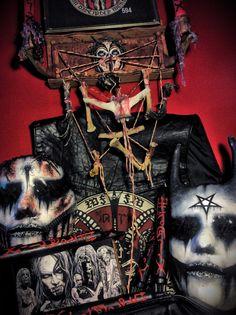 StitchWitchDolls getting ready for the Black Metal Warfare....