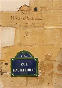 rue Hautefeuille - Paris 6ème
