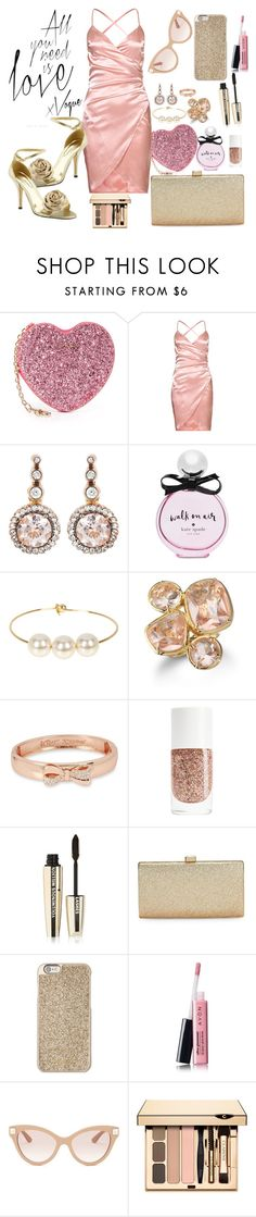 """all you need is love"" by grace-buerklin ❤ liked on Polyvore featuring Furla, Pierre Dumas, Selim Mouzannar, Kate Spade, Jules Smith, Sequin, Betsey Johnson, L'Oréal Paris, La Regale and Michael Kors"