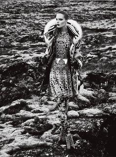 Publication: Vogue Portugal November 2012  Model:  Charlotte Tomaszewska  Photographer: Kevin Sinclair  Fashion Editor: Andrew Holden