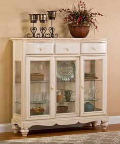 Another great find on #zulily! Old White Pine Island Buffet #zulilyfinds