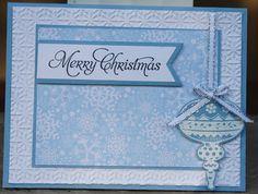 Crafty Nanas Blog: Blue Christmas for Merry Monday #63