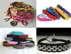 Friendship bracelet tutorials from  f 4YA: Inspiration for Youth Advocates