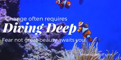 Dive deep to create lasting change in your life #recovery #edrecovery