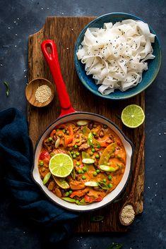 Warzywne curry z fasolą - rozgrzewające i idealne na jesień - Filozofia Smaku Tempeh, Tofu, Curry, Ethnic Recipes, Curries