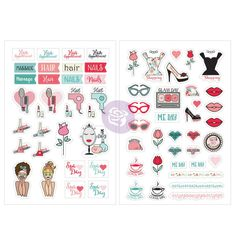 Having a girl's spa day out? Here are some adorable SPA day stickers to adorn and document your day. SKU #912024