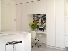 Smart desk and storage idea for upstairs