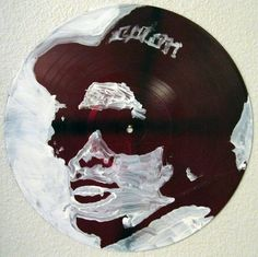 Vinyl Records Art Easy E from NWA Rap Music Painting by MattPecson, $30.00
