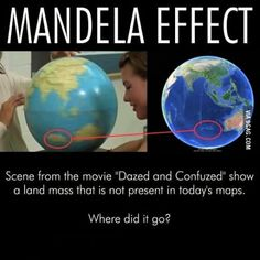 Do you think the Mandela effect is real? :-S