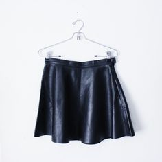 100% Leather Skirt Details coming soon! xx American Apparel Skirts Circle & Skater