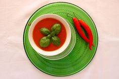 Pittige tomaat-pompoen soep