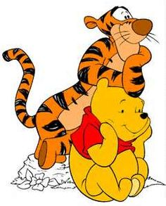 *TIGGER & POOH...these remind me of when the boys were young!