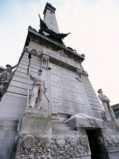Climb 330 steps to the top of the 1902 Soldiers' and Sailors' Monument for a 360-degree view of Indy!