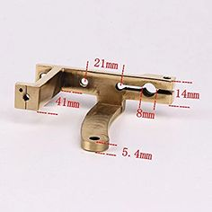 CNC Carved Brass Tattoo Machine Part Frame For Shader Liner Fit 32mm Coils