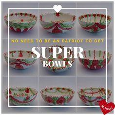 Super Bowl, Decorative Bowls, Tableware, Dinnerware, Tablewares, Dishes, Place Settings