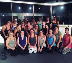 We had an amazing Hustle & Flow Class with cool towels and lavender sents! Loved the new Barre Stretch!