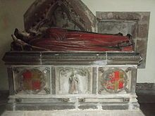 Tomb of Thomas Bromley and Isabel Lyster, Wroxeter.