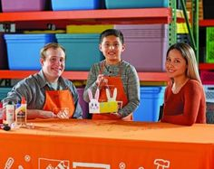 The Home Depot Free Easter Bunny Basket on April 1 2017 - US