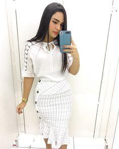 7963c2277 Imperatriz no Instagram • Fotos e vídeos Modelos Evangelicos, Look  Evangelico, Moda Evangelica Feminina