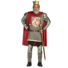 Disfraz de Rey Medieval Lujo #disfraces #carnaval