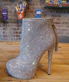 Bling Bling Ankle Boot... Where when how.. I need these beautiful boots