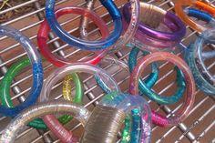 Also loved my glitter bracelets