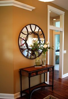 Find Entry tables Ideas. See more ideas about Entry table decorations, Entrance table and Entrance table decor Farmhouse Style, Hallways, How to build Entrway, Small, Rustic, Narrow, Glass, Mirror, couple Home Project