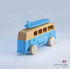 Personalized Wooden Car Wooden Toy for Boys Kids by emanuelrufo