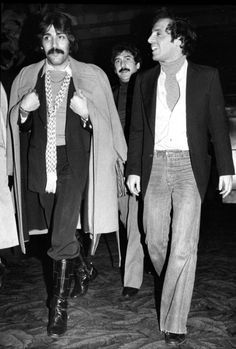 Tony Orlando & Steve Rubell at Studio 54