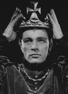 Richard Burton as Henry V