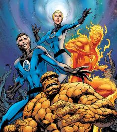 Fantastic Four: The End by Alan Davis