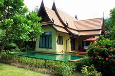 Koh Chang Paradise Resort & Spa by laperlenoire, via Flickr Koh Chang, Resort Spa, View Image, Bungalow, Paradise, Villa, Dreams, River, Mansions