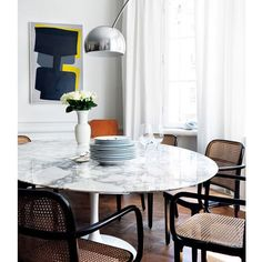 77 best circular dining table images round dinning table dining rh pinterest com