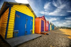 Photo Beach boxes by Joe Ferma on 500px