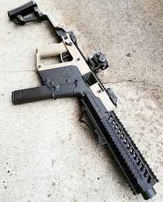 "Kriss Vector   ""Tactical, modded, custom, SBR"""