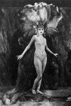 greatgdean:  The Feather Girl…Vintage Feather Costume